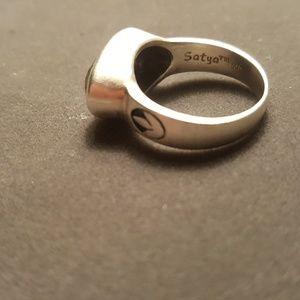 Satya Jewelry Jewelry - Satya Black Onyx Ring Size 7